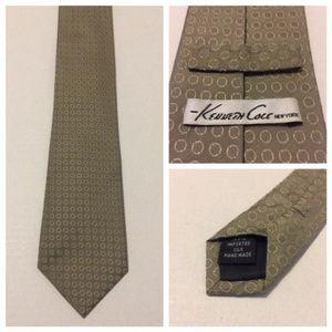 """Kenneth Cole New York Men's Neck Tie 100% Silk 59"""""""